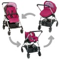 bebe-confort-set  3 in 1 streety plus sweet cerise